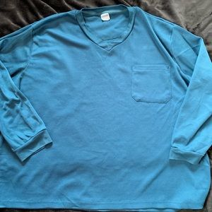Other - Teal Long Sleeve 4XL